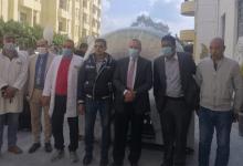 Photo of وكيل صحة الدقهلية يشهد إستقبال أجهزة أشعة مقطعية تبرع من المجتمع المدني