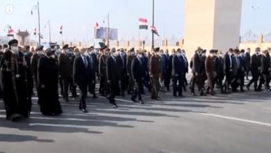 الرئيس السيسي يتقدم الجنازة العسكرية للدكتور كمال الجنزوري