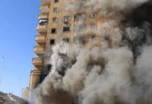 Photo of غلق الدائري لمدة ساعة بسبب تفجير عقار فيصل المحترق