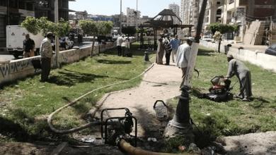 محافظ كفر الشيخ يقرر تطوير الحديقة العامة غرب العاصمة