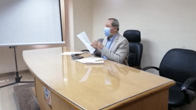 وكيل وزارة الصحة بالدقهلية يعقد اجتماعا لمناقشة آخر مستجدات وضع المستشفيات