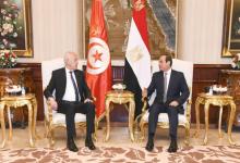 الرئيس السيسي يستقبل نظيره التونسي