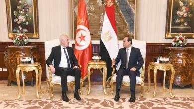Photo of الرئيس السيسي يستقبل نظيره التونسي