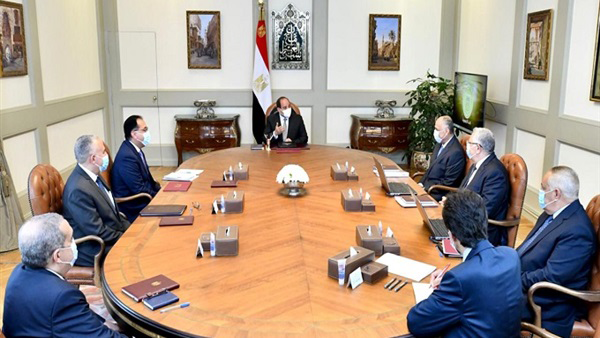 الرئيس السيسي يتابع تطوير منظومة إدارة مياه الري