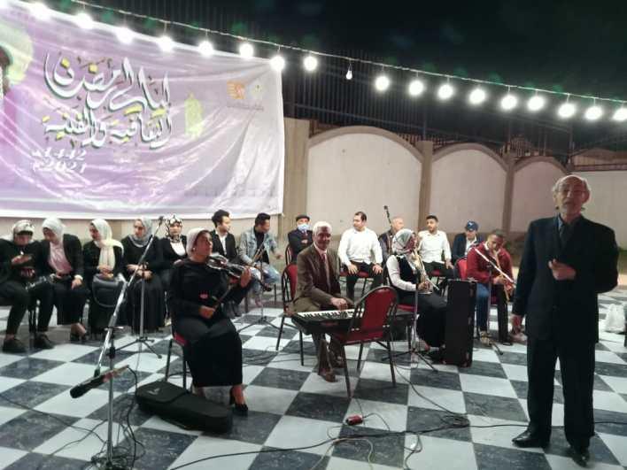 انطلاق أولى فعاليات ليالي رمضان الثقافية بكفر الشيخ