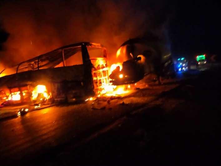 حادث أتوبيس طريق أسيوط البحر الأحمر