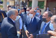 محافظ كفر الشيخ يستقبل وزير التموين بديوان المحافظة