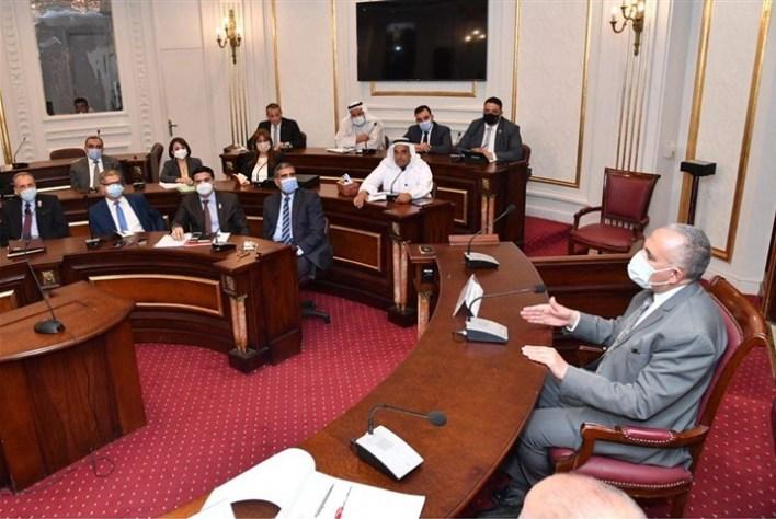 مشاركة وزير الري في اجتماع لجنة الدفاع بمجلس الشيوخ