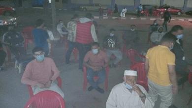 إغلاق 3 مقاهي وتحرير 12 محضر لعدم ارتداء الكمامة في قلين والبرلس