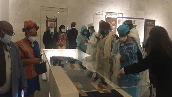 المتحف القومي للحضارة يستقبل سفراء الدول الأفريقية وقريناتهم