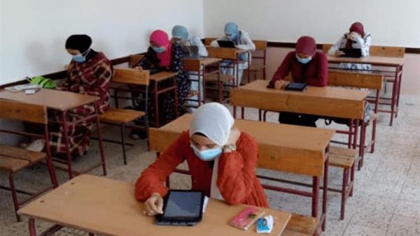 تعليم كفر الشيخ: 98.2٪ من طلاب الثانوية العامة أجرو الامتحان التجريبي