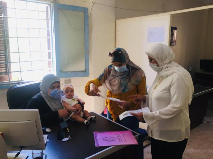 توعية 24 ألف مواطن بأهمية لقاح كورونا في قرى حياة كريمة بكفر الشيخ