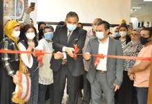 رئيس جامعة كفر الشيخ يفتتح معرض الفن التشكيلي بالتربية النوعية
