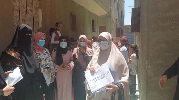 """""""احميها من الختان"""" تنفذ 5099 زيارة منزلية لحملة طرق الأبواب في كفر الشيخ"""