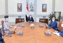 الرئيس السيسي يطلع على مخطط إنشاء أول مصنع لدباغة الجلود في الشرق الأوسط وأفريقيا