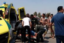 إصابة 5 في حادث انقلاب سيارة بكفر الشيخ