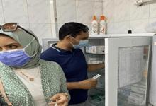 حملة تفتيشية مكبرة على المنشآت الطبية بمركزي شبين الكوم وقويسنا