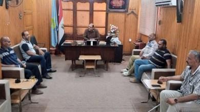 رئيس مدينة بيلا يناقش إصلاح ومعالجة الهبوط الأرضي بشارع 23 يوليو