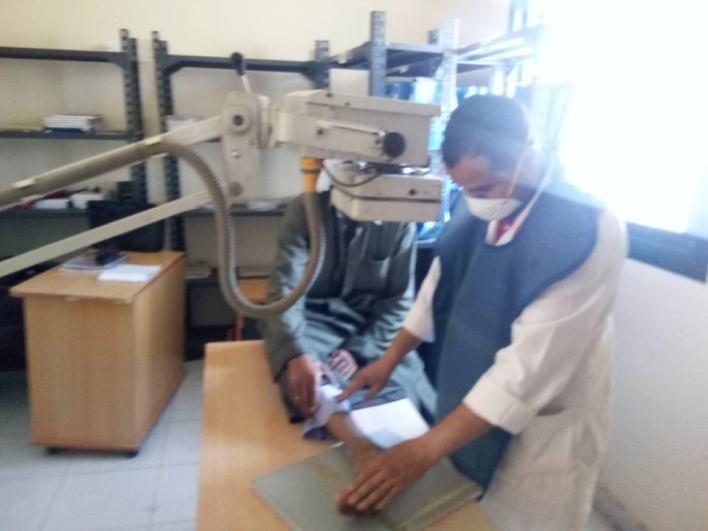 قافلة طبية علاجية بقرية الزهيري مركز بني عبيد