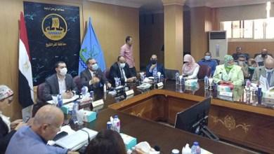 محافظ كفر الشيخ يناقش عددا من المشروعات الخدمية مع أعضاء مجلسي النواب والشيوخ