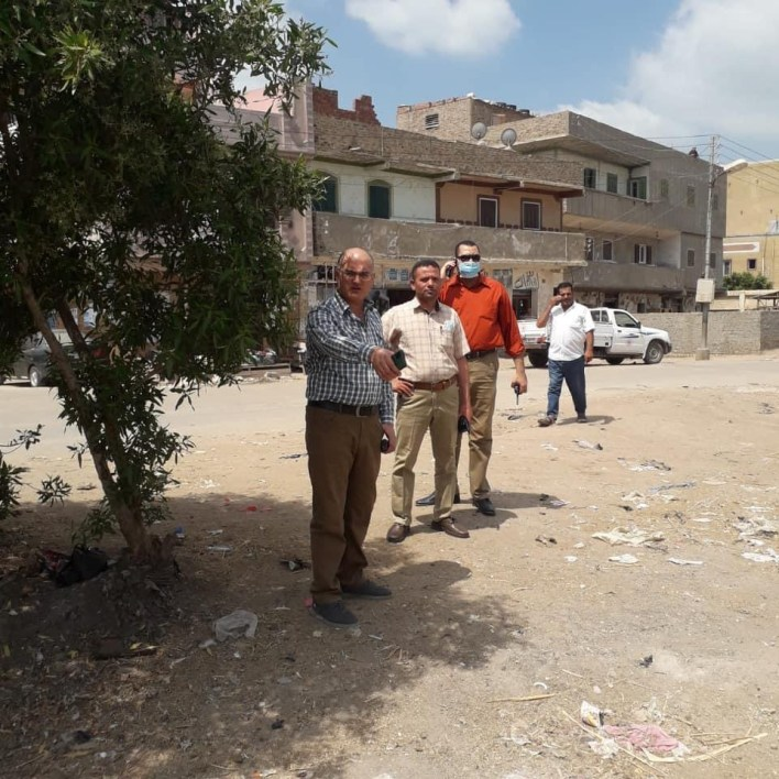 وحدة التدخل السريع بكفر الشيخ ترفع 90 طن قمامة من قري بيلا