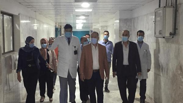 وكيل وزارة الصحة بالدقهلية يتفقد الأقسام الجديدة بمستشفى المنصورة الدولي