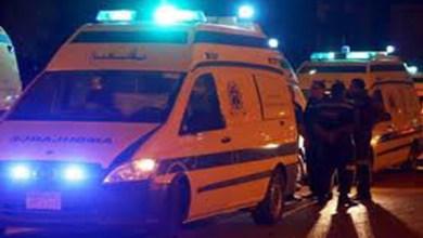تصادم موتوسيكل بسيارة يصيب سيدتين بكفر الشيخ