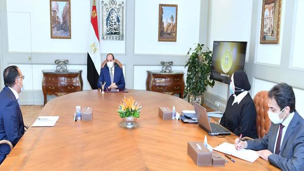 الرئيس السيسي يعقد اجتماعا لمتابعة جهود توطين الصناعة