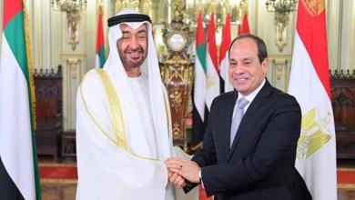 الرئيس السيسي والشيخ محمد بن زايد يطلقان مهرجان الهجن بالعلمين