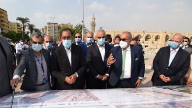 جولة تفقدية لرئيس الوزراء بمسجد عمرو بن العاص لمتابعة أعمال التطوير