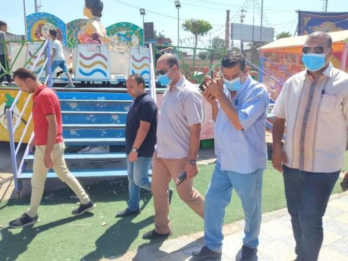 فرحة العيد بكفر الشيخ تنتصر على حرارة الطقس في ثاني أيام عيد الأضحي