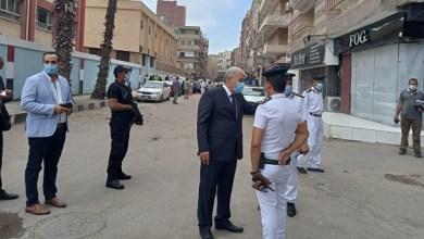 مدير أمن كفر الشيخ يتفقد محيط لجان امتحانات الثانوية العامة