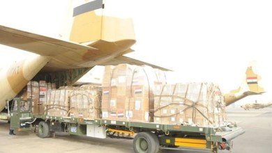 مصر ترسل 4 طائرات على متنها مساعدات طبية إلى السودان