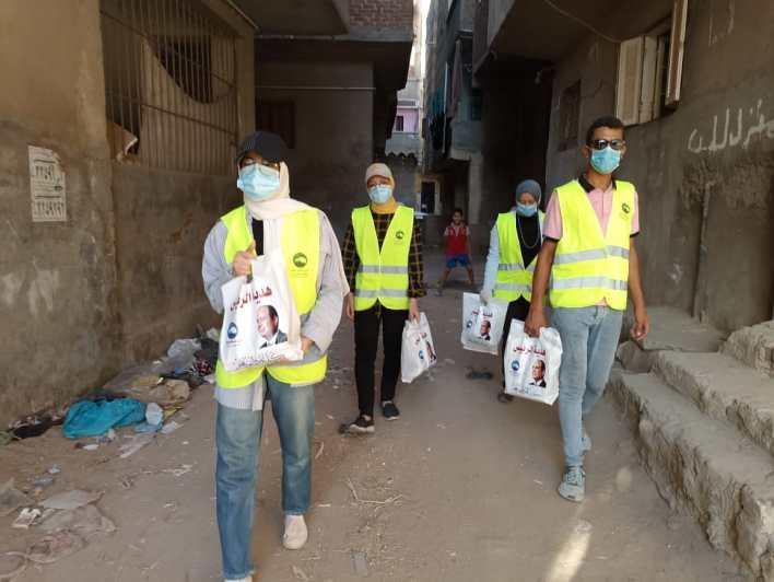 مستقبل وطن بكفر الشيخ يوزع 5 طن لحوم على الأسر الأولى بالرعاية