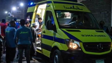 مصرع شاب متأثرًا بإصابته في حادث سير بكفر الشيخ