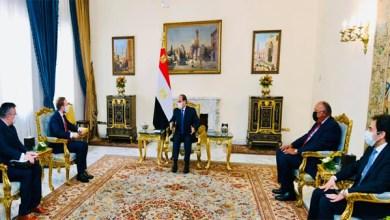 الرئيس عبد الفتاح السيسي يستقبل وزير خارجية التشيك