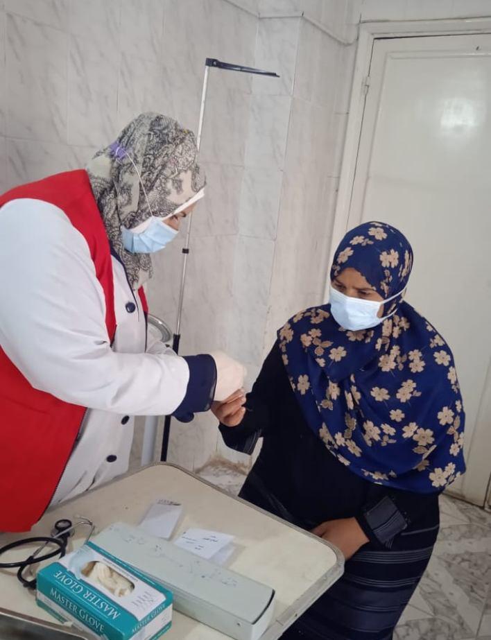 مبادرة دعم صحة المرأة بالدقهلية