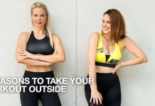 5 Reasons to Take your Workout Outside