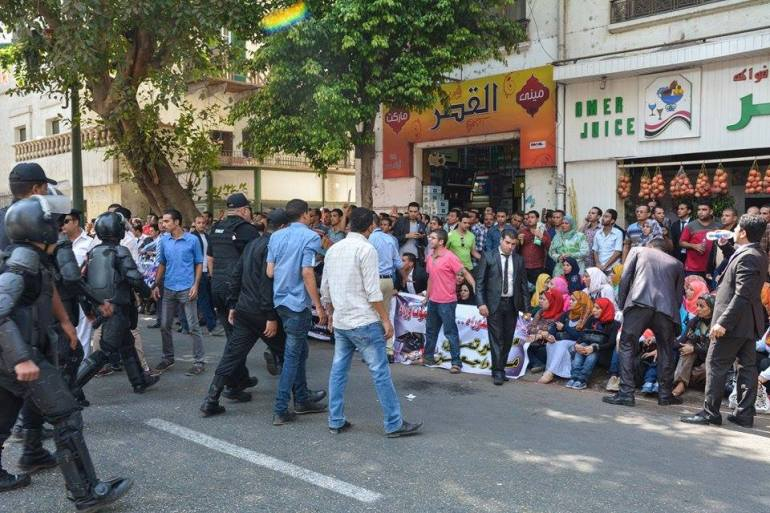 الصورة من أصوات مصرية