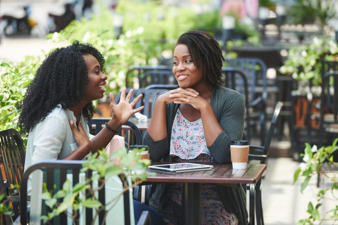 Image result for Black women talking
