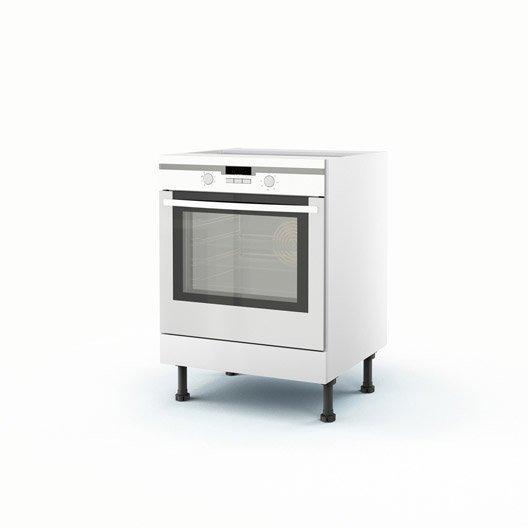 caisson de cuisine bas four h70 p60 l58
