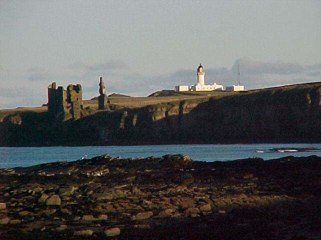 Noss Head lighthouse. Image from Caithness.org