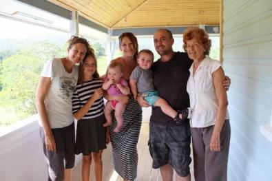 Julia O & family