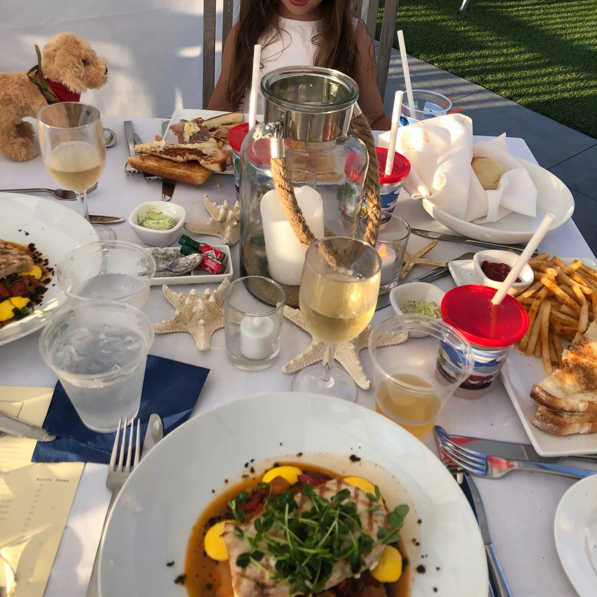 Private Cabana Dining at Winnetu-Marthas-Vineyard