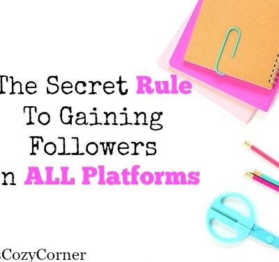 The Secret To Gaining Followers on ALL Platforms Is…