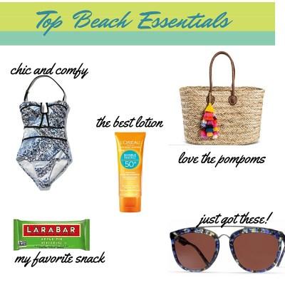 My Top Beach Essentials