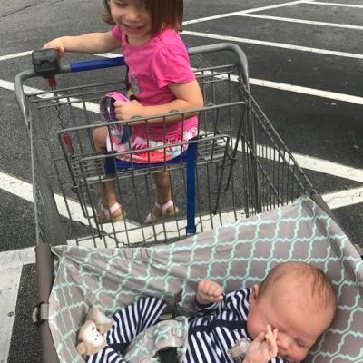 3 Easy Ways to Grocery Shop With A Toddler and Baby