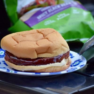 Finger Lickin' Good BBQ Black Bean Burger!