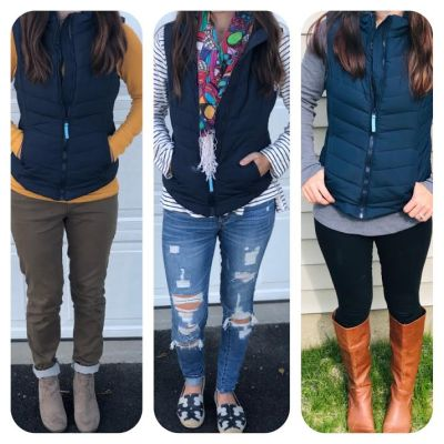 How To Style A Puffer Vest 3 Ways