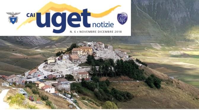 """Notiziario """"Cai Uget Notizie"""" di Novembre – Dicembre 2018"""